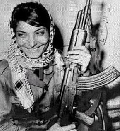 Η Λεϊλά Χαλέντ το 1969